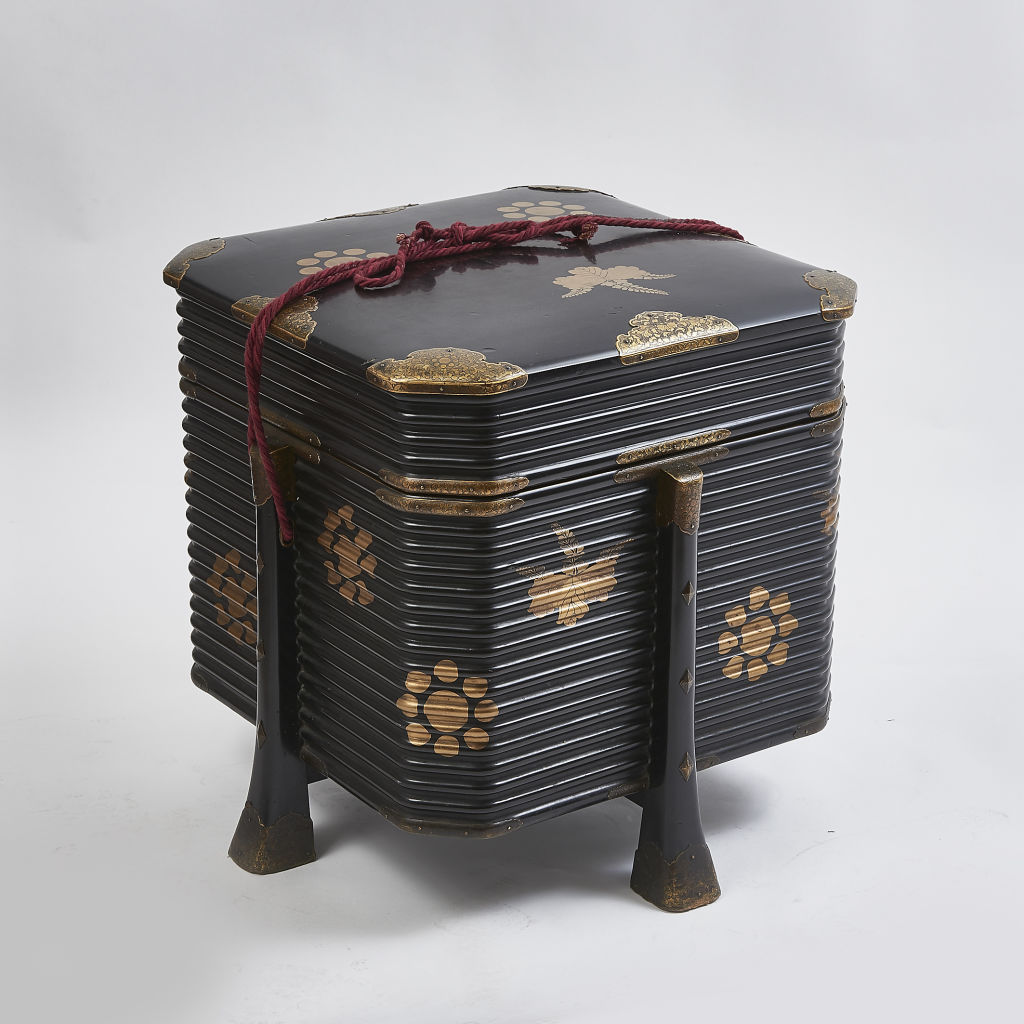 Large Japanese Lacquer Box