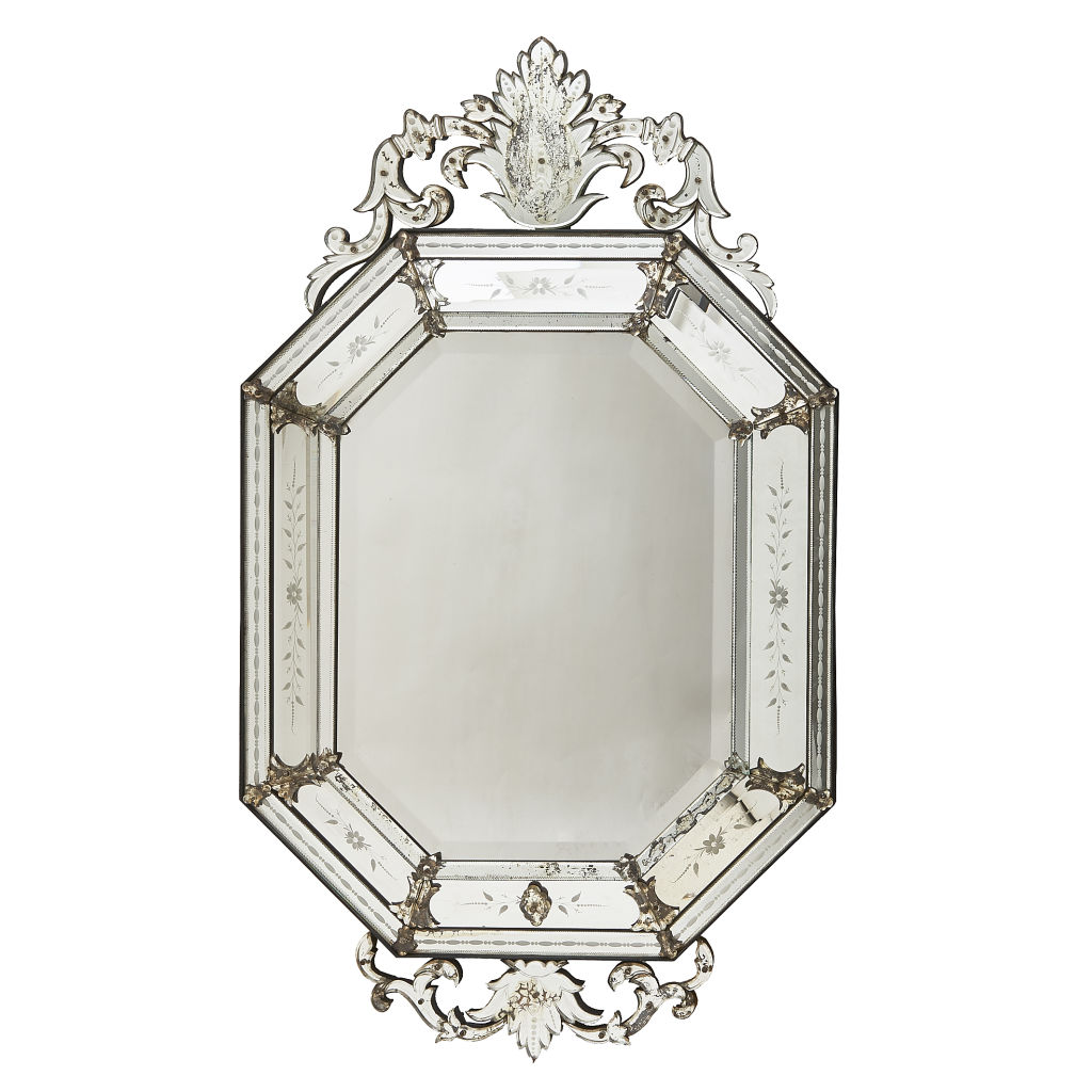 Octagonal Cushion Mirror