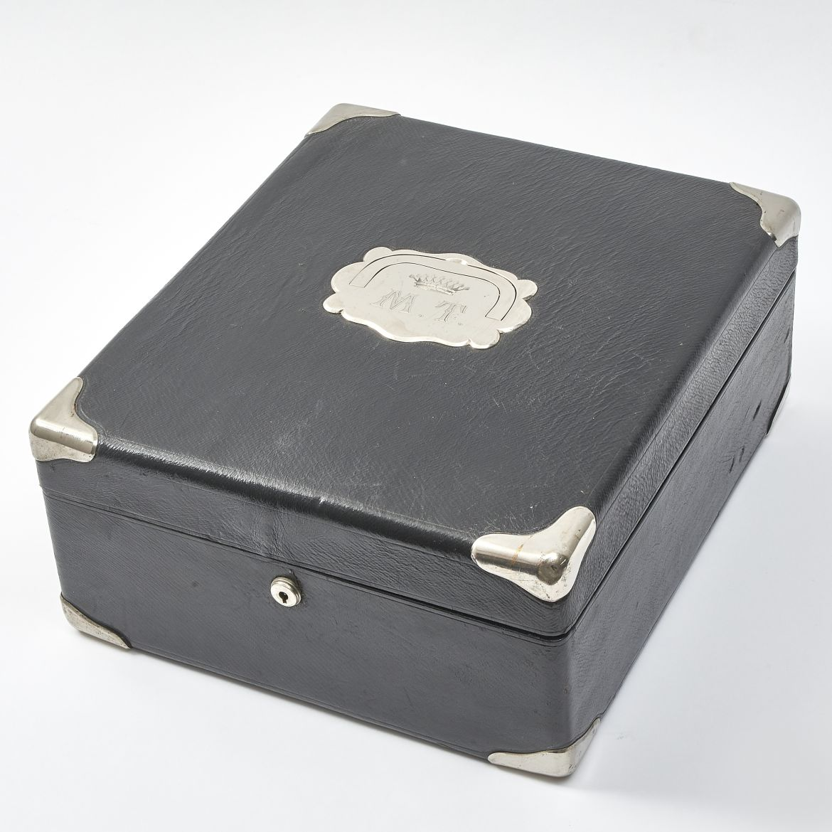 Morocco Leather Jewellery Box
