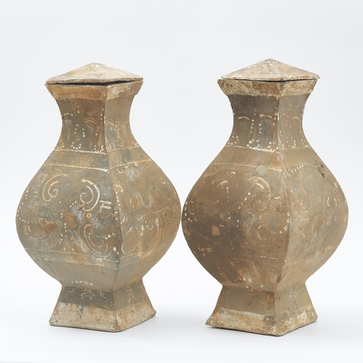 Guinevere antiques product categories vases urns pair chinese han dynasty vases reviewsmspy