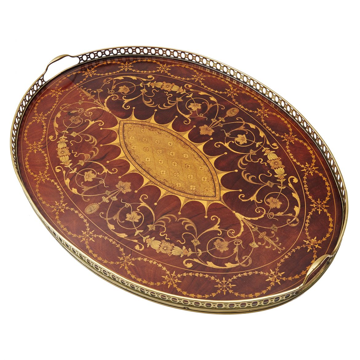 Edwardian Inlaid Tray