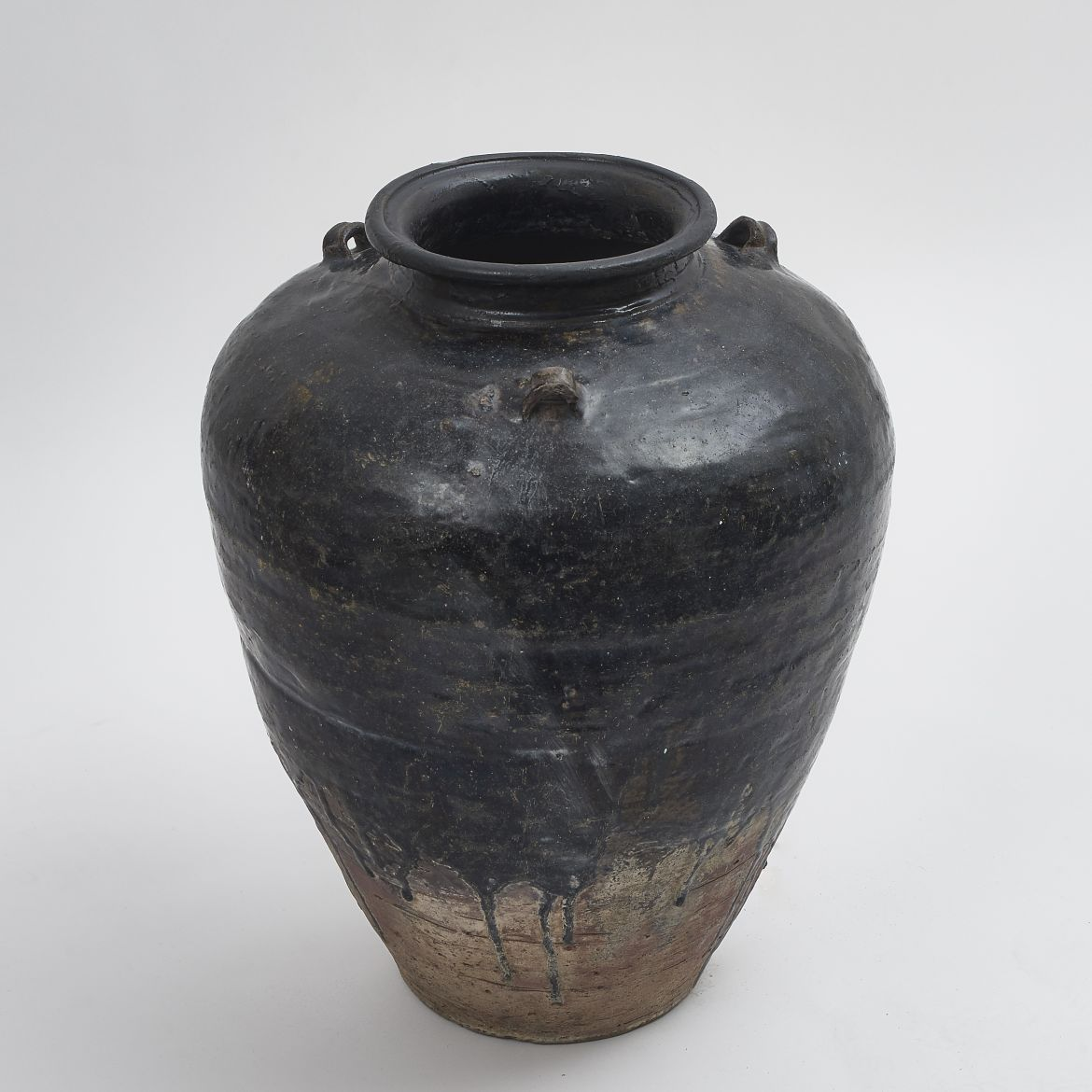 Glazed Water Jar