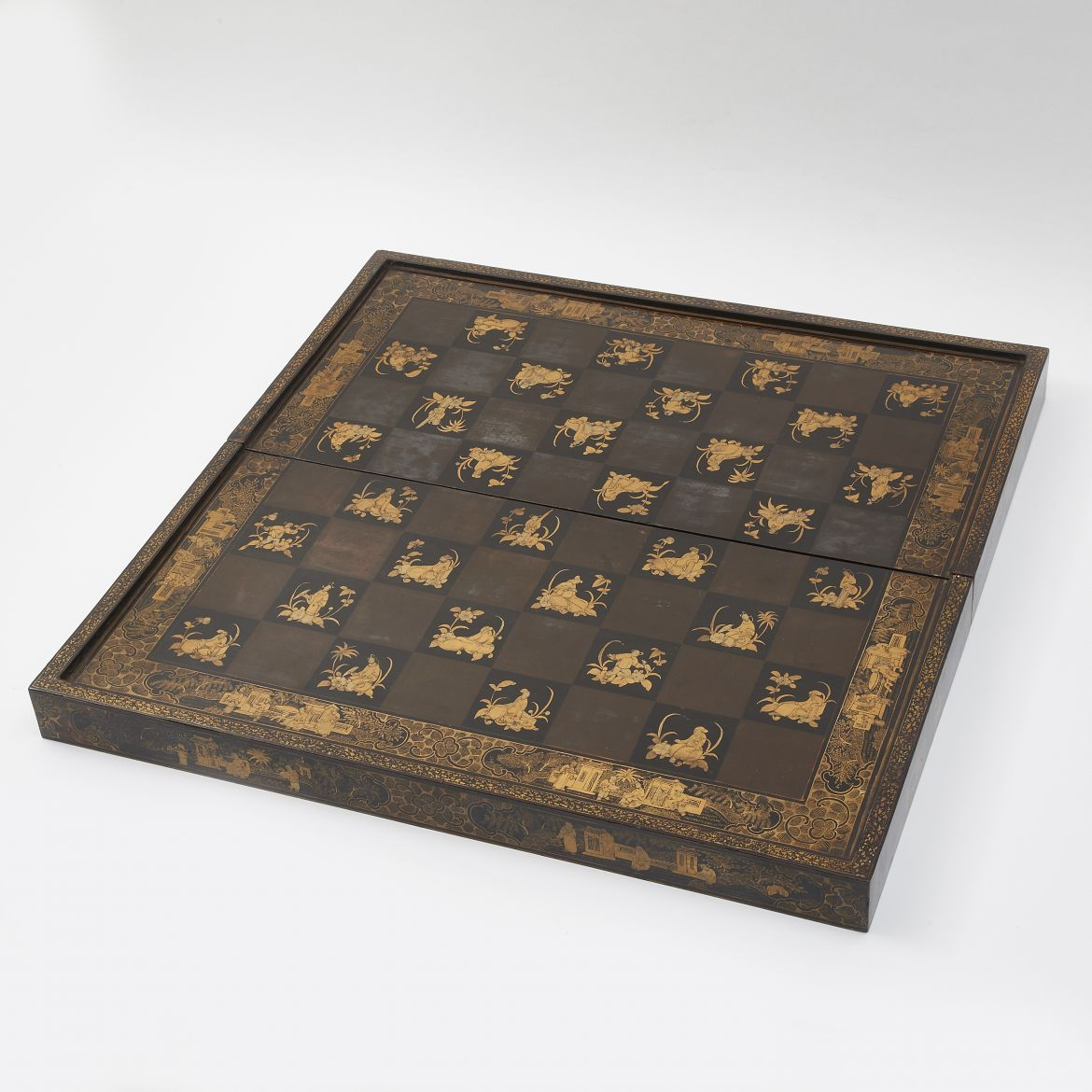 Chinese Lacquer Games Board