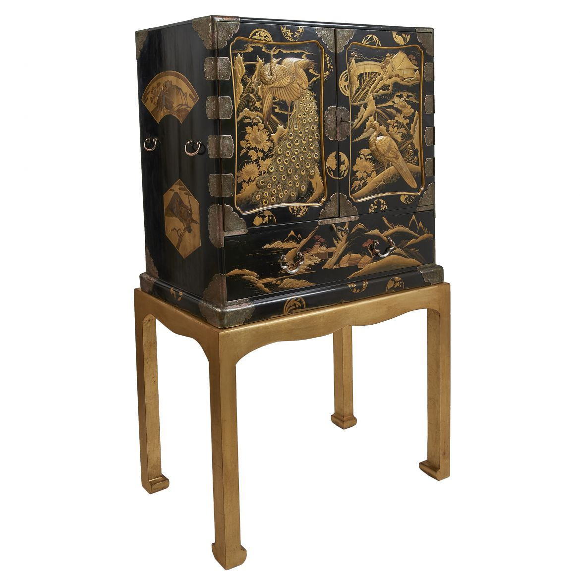 Japanese Lacquered Cabinet