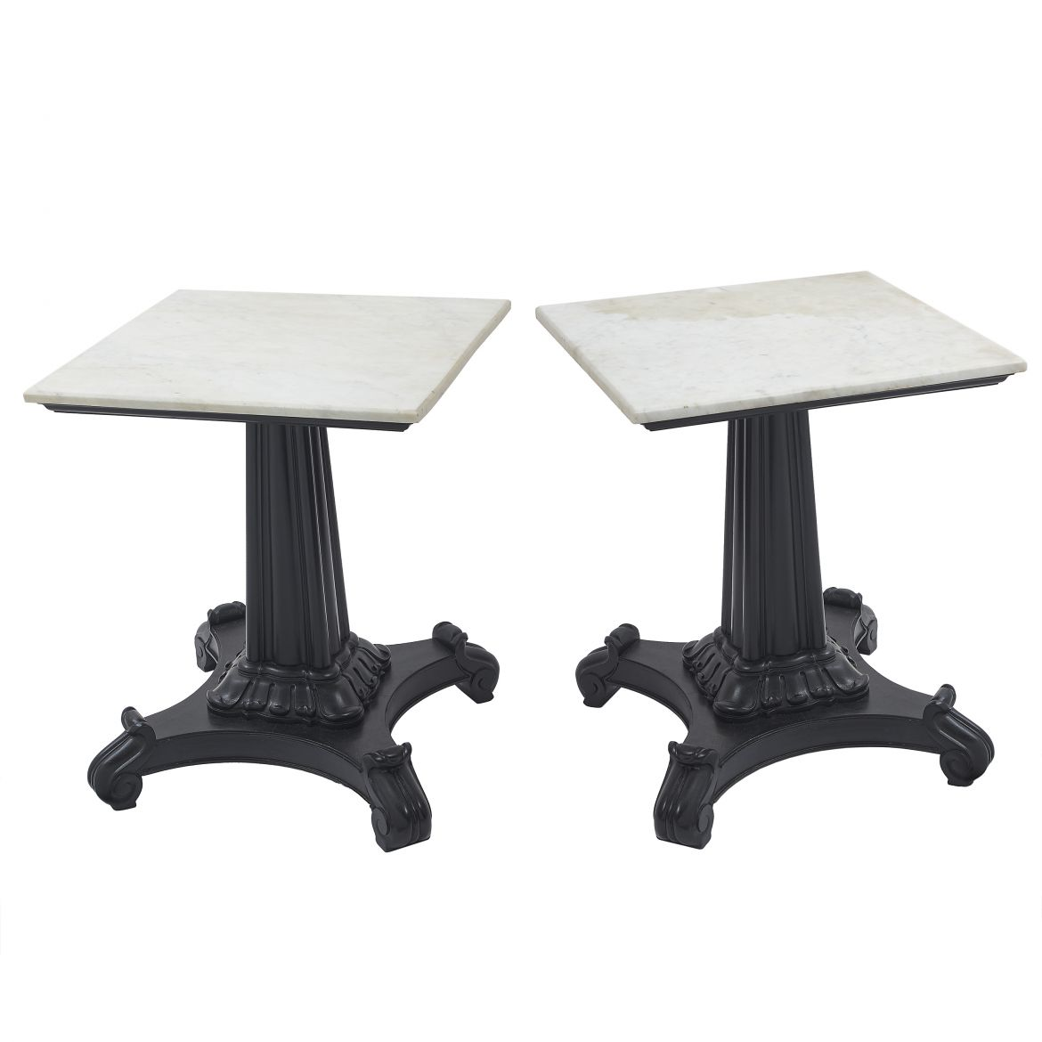 Pair Square Side Tables