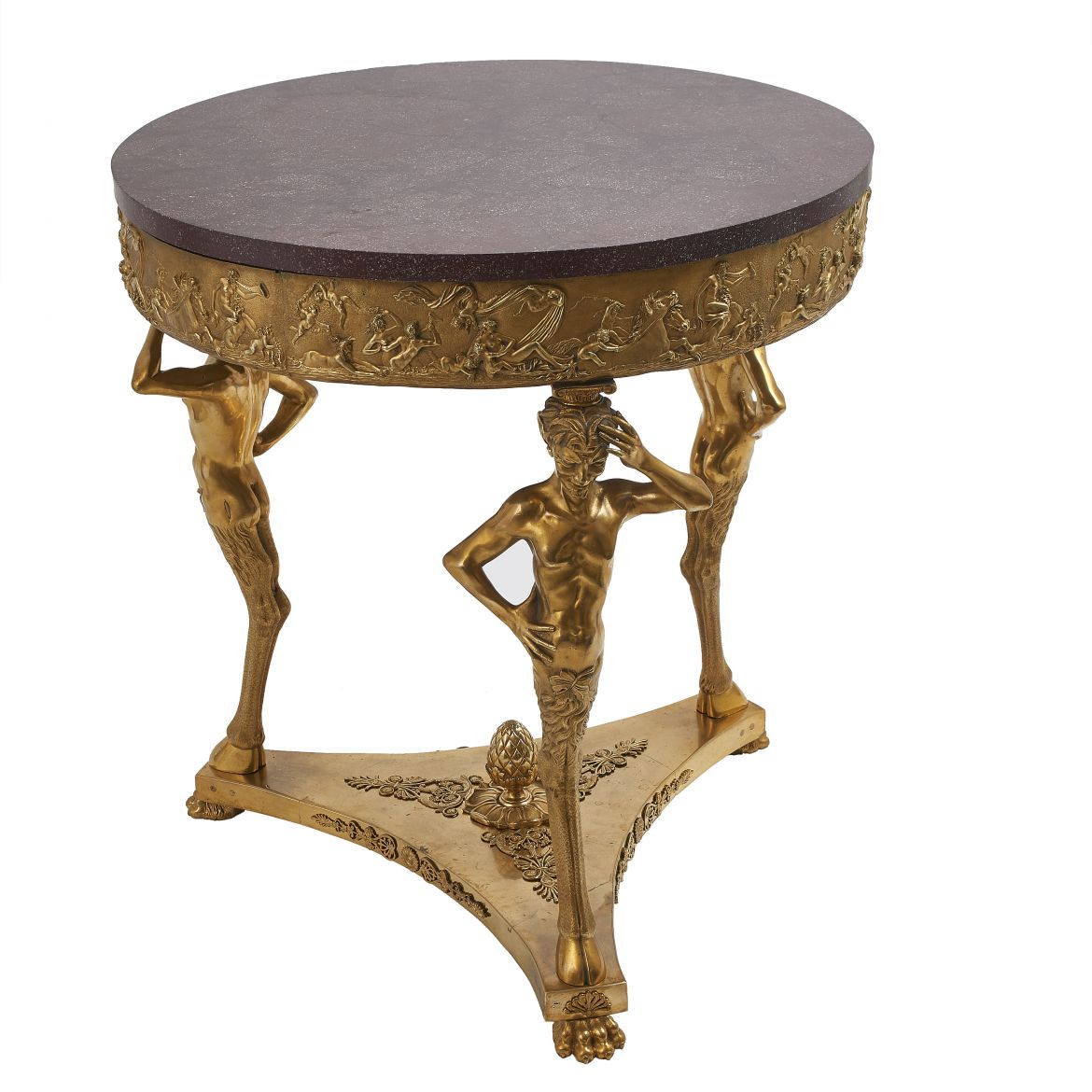 Italian Grand Tour Bronze Table