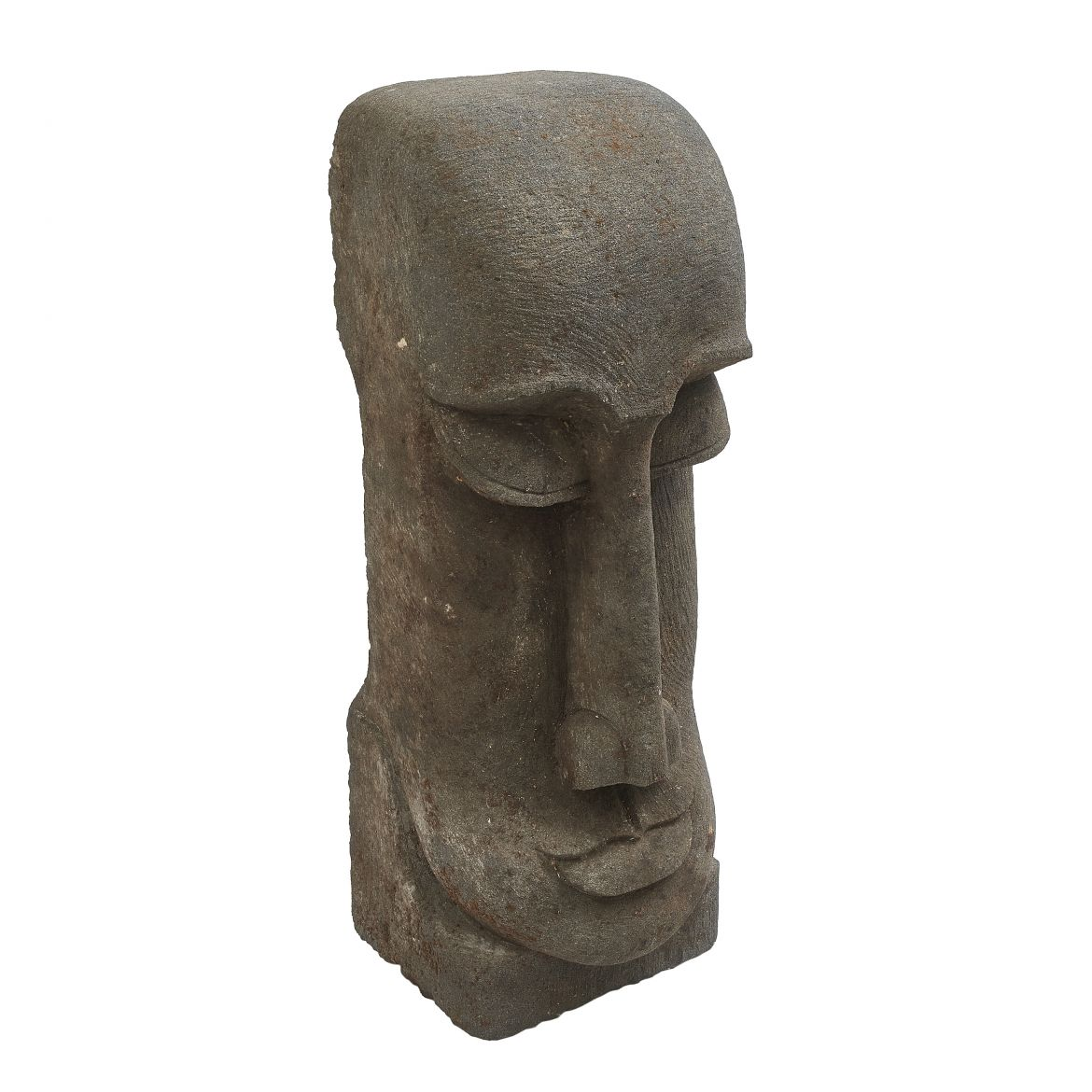 Carved Easter Island Head