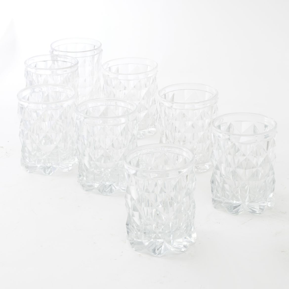 Set of 8 Voneche Crystal Tumblers
