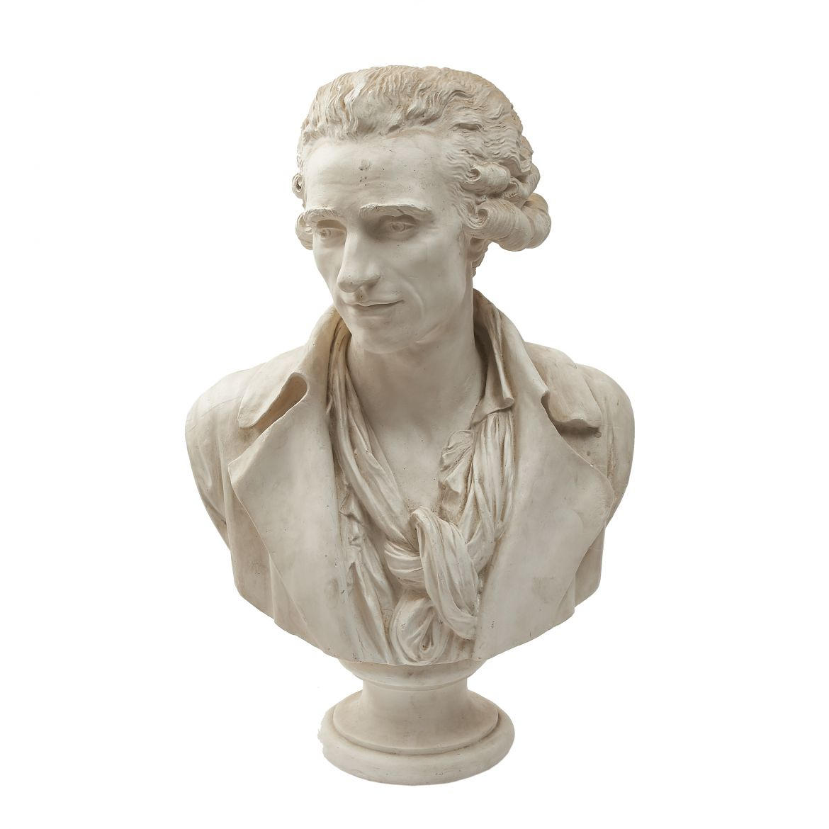 Plaster Cast of Philippe-Laurent Roland
