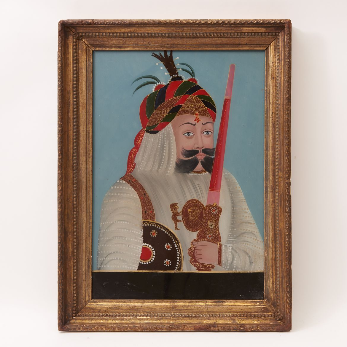 Painting of a Mughal Warrior