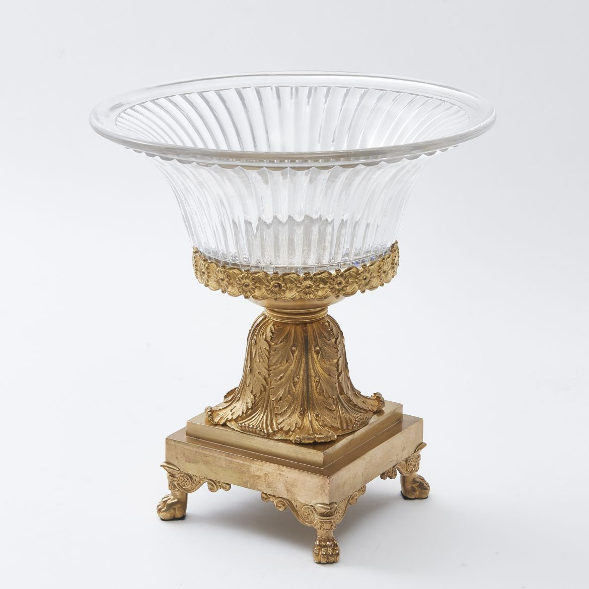 Ormolu & Crystal Louis Philipe Tazza