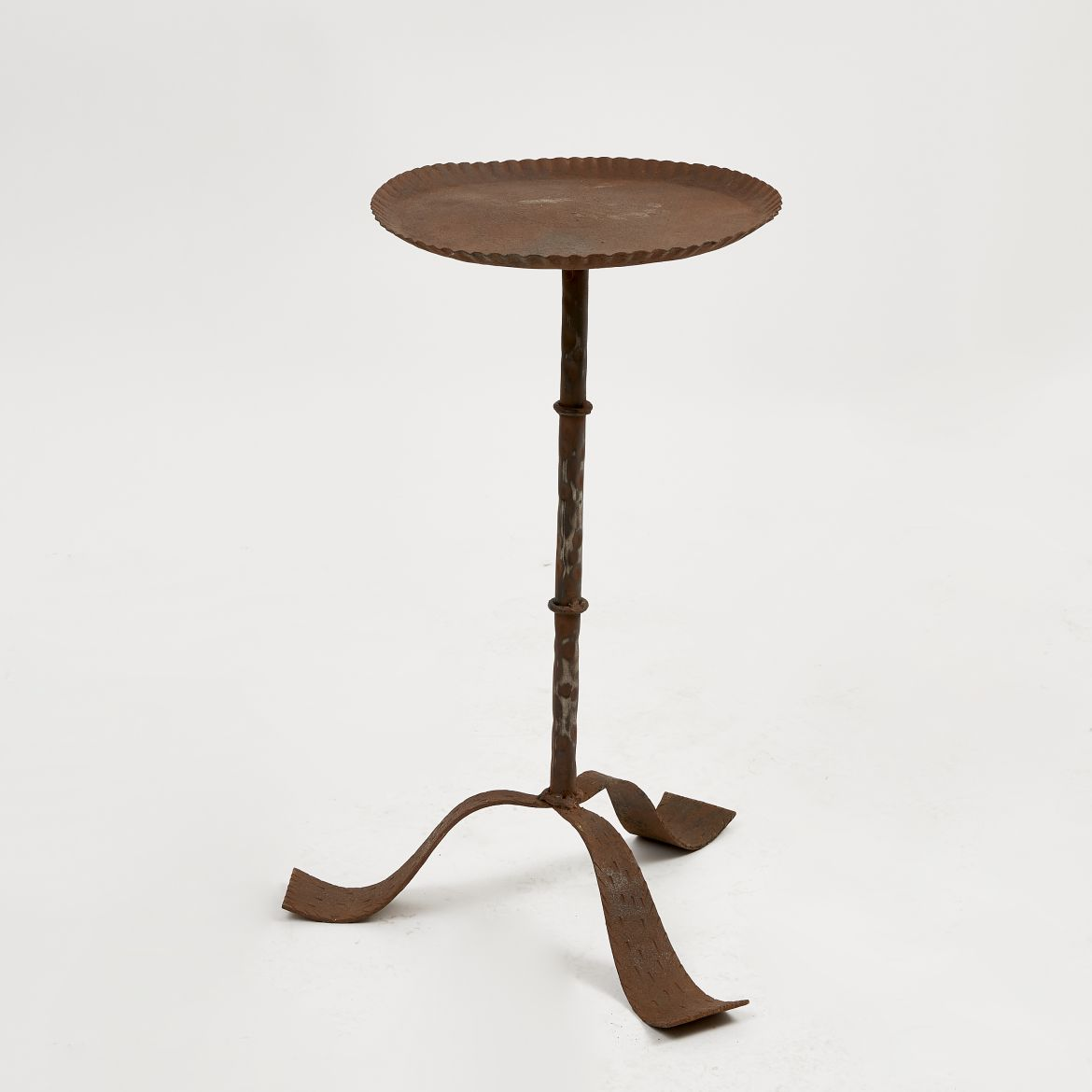 Spanish Martini Table with Dark Patina