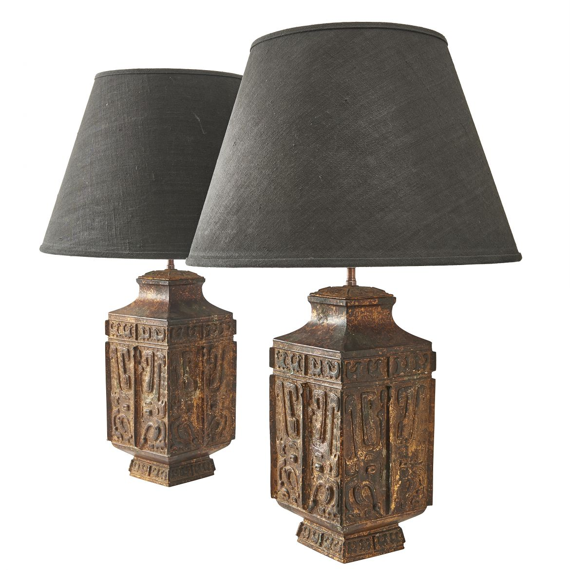 French Chinese Style Lamps