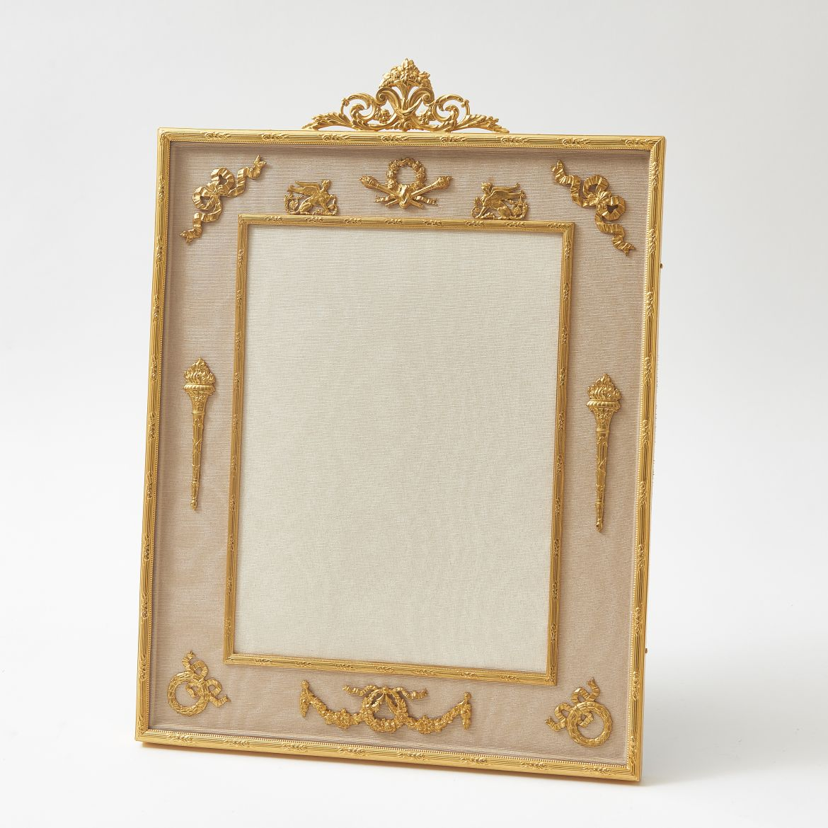 Ormolu Frame With Classical Motifs