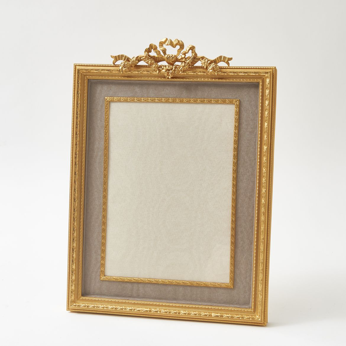 French Photo Frame With Silk Slip