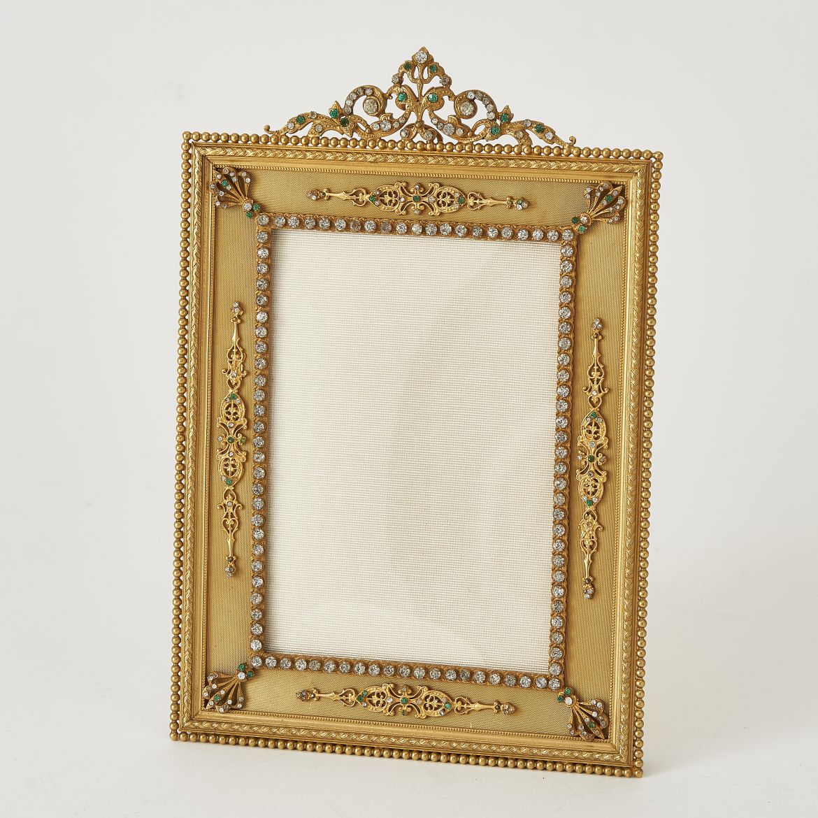 Photo Frame With Green Paste Decoration