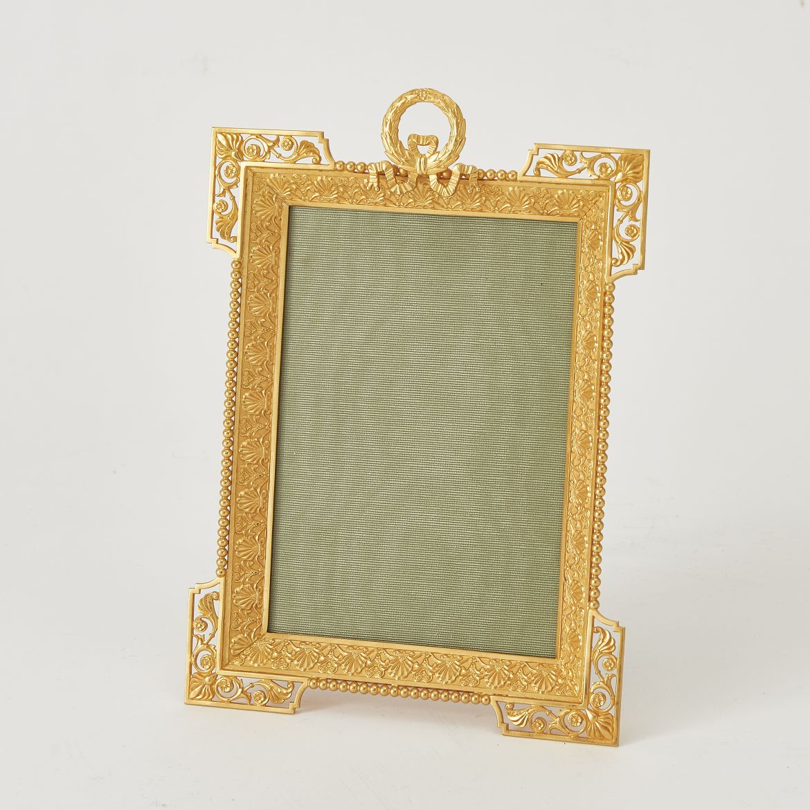 Ormolu Frame With Palmate Border