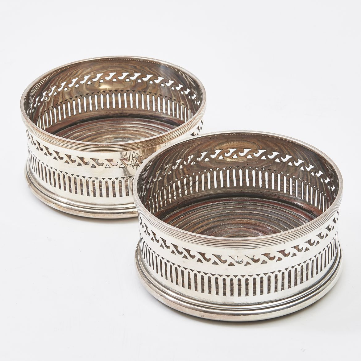 Silver Plate Coasters