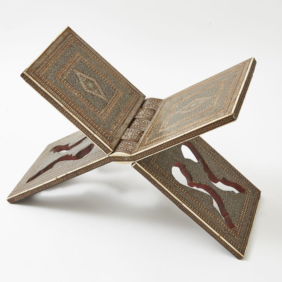 Inlaid Qur'an Stand