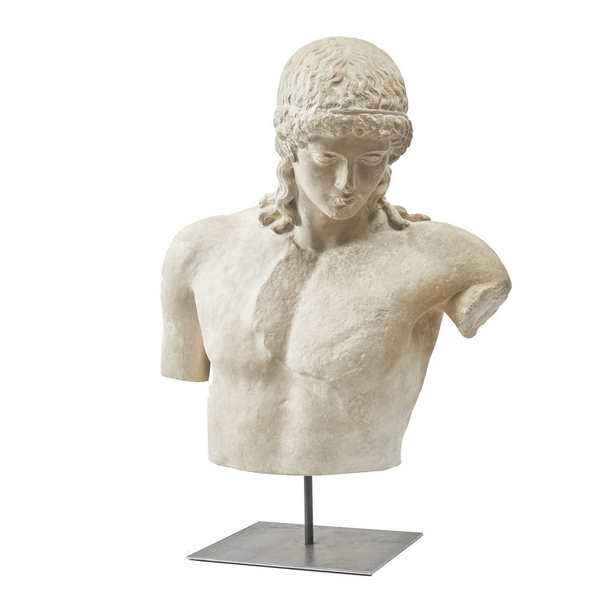 Plaster Bust of the Tiber Apollo