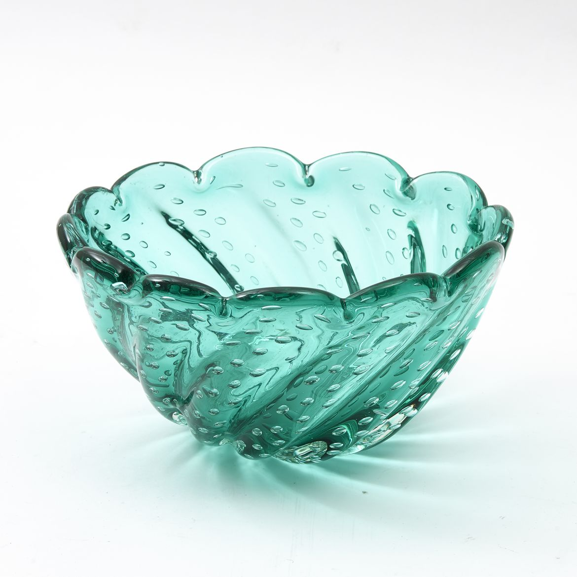 Murano Bubble Glass Bowl