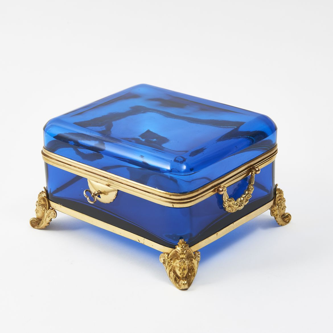 Clear Blue Casket
