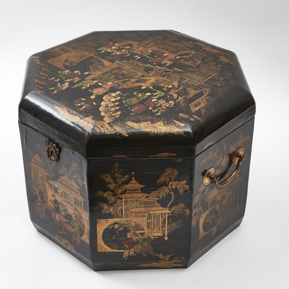 Chinoiserie Lacquer Box