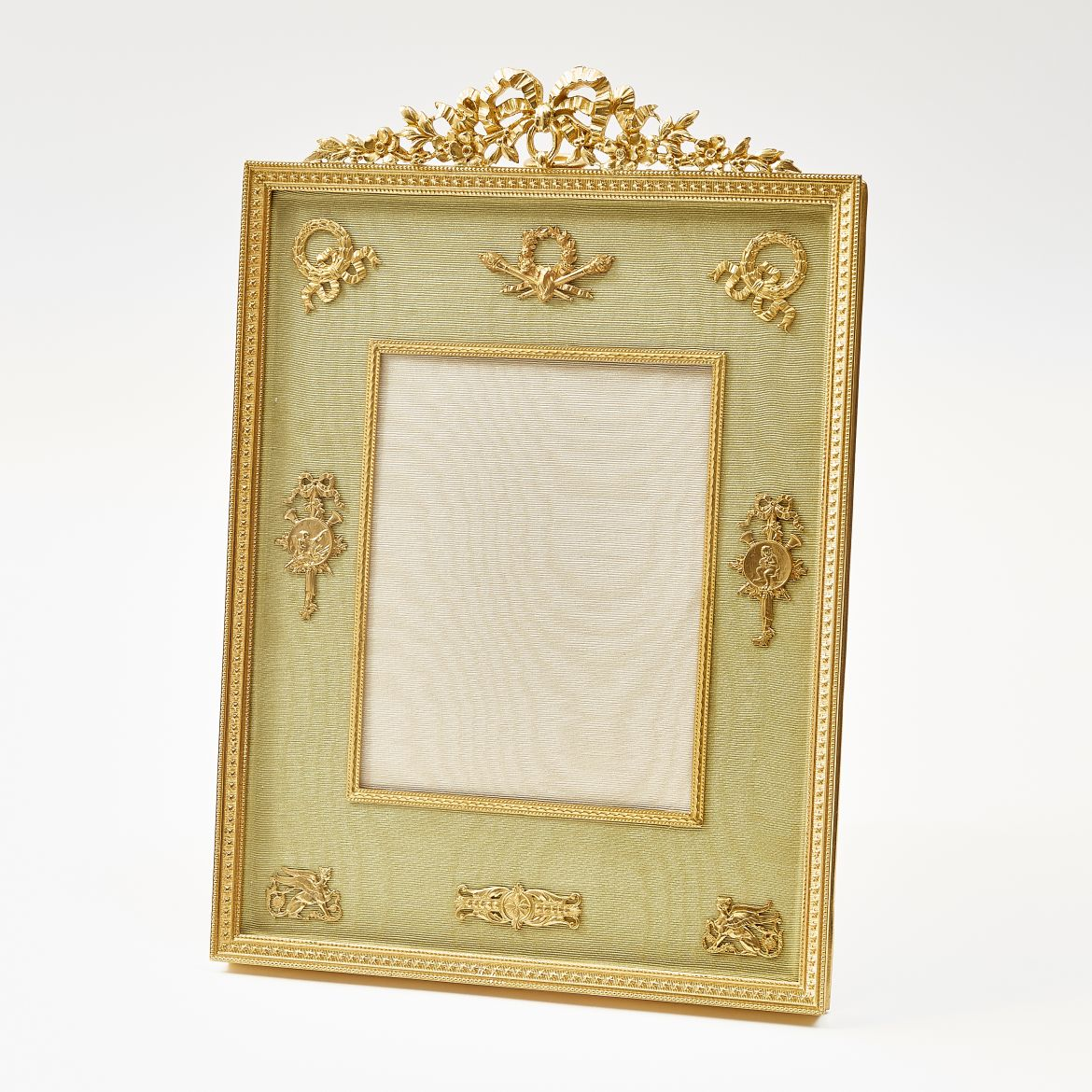 Pale Green Slip Empire Style Frame