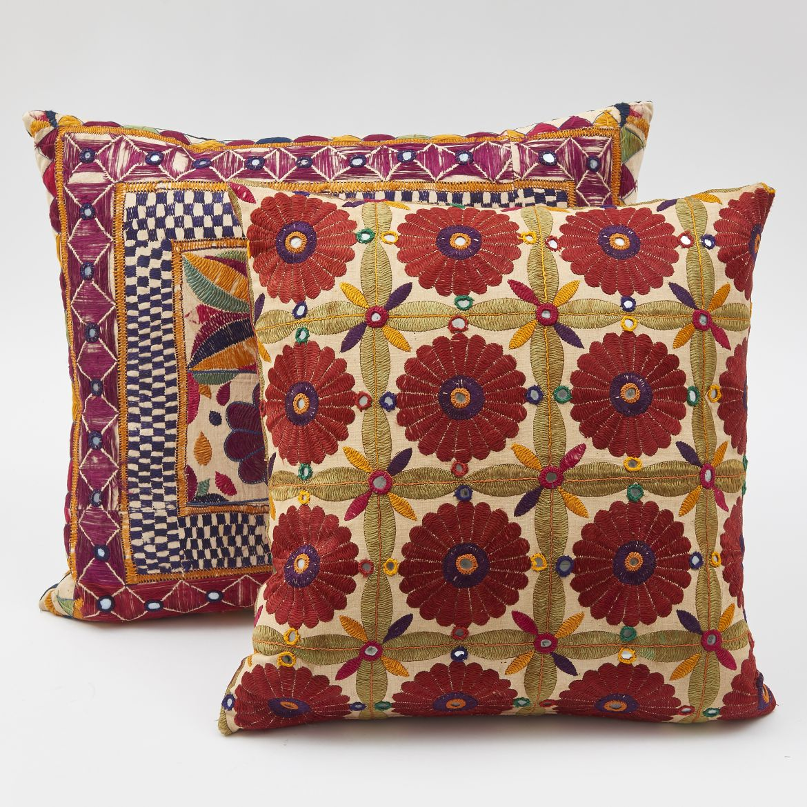 Ceremonial Fabric Cushions