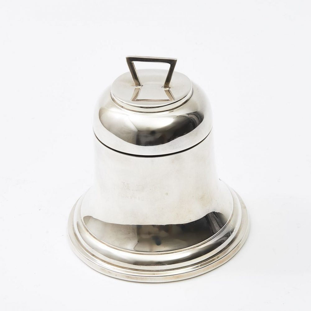 Victorian Bell Shaped Inkwell