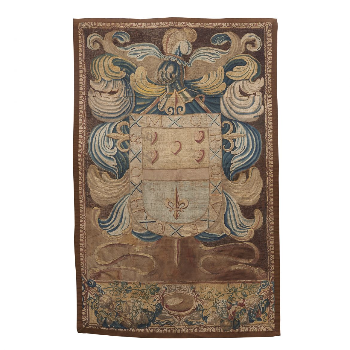 Portrait Tapestry of a Coat of Arms
