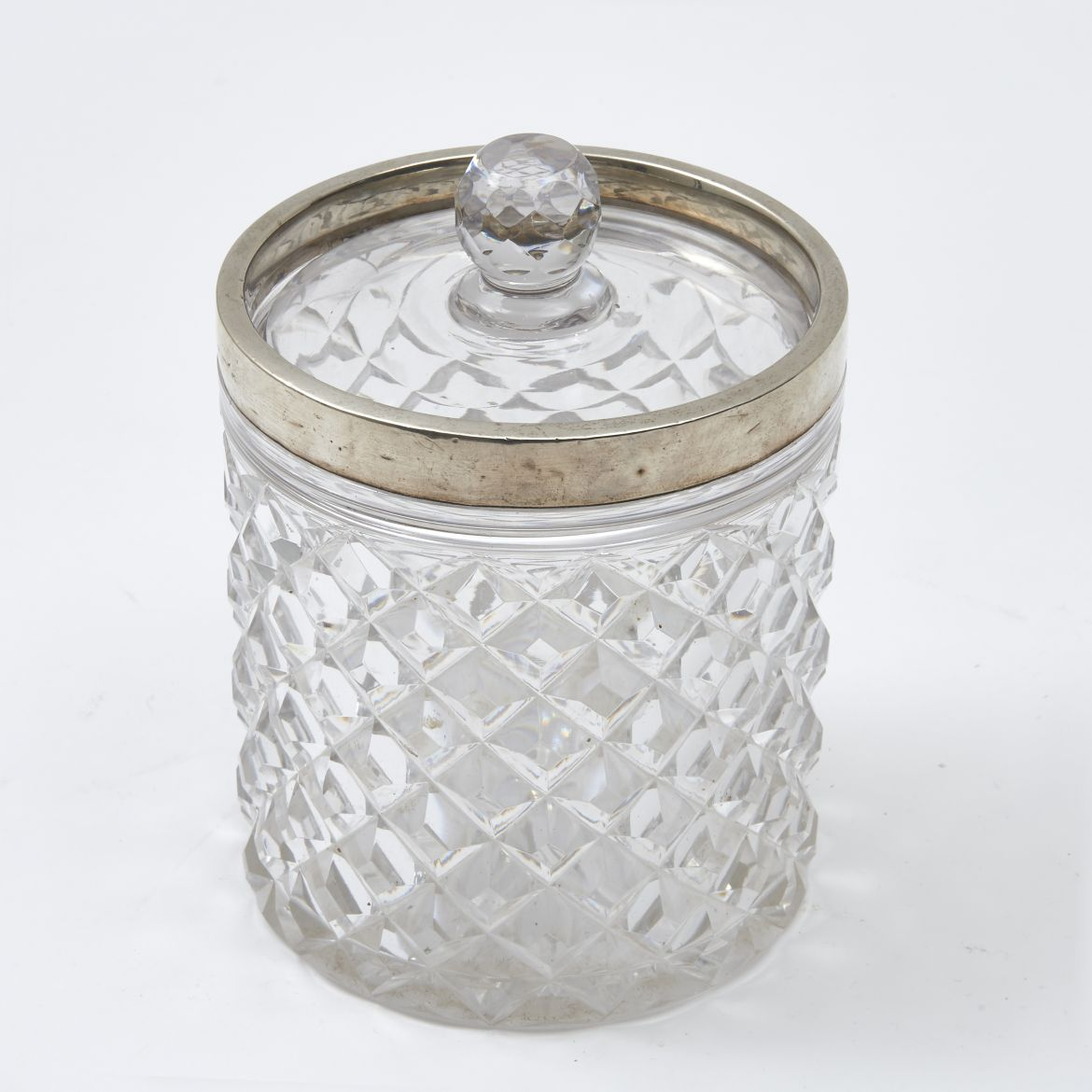 Cut Crystal Biscuit Box