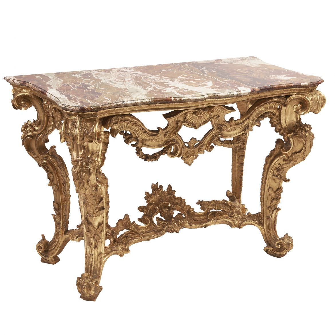 18th Century Giltwood Console