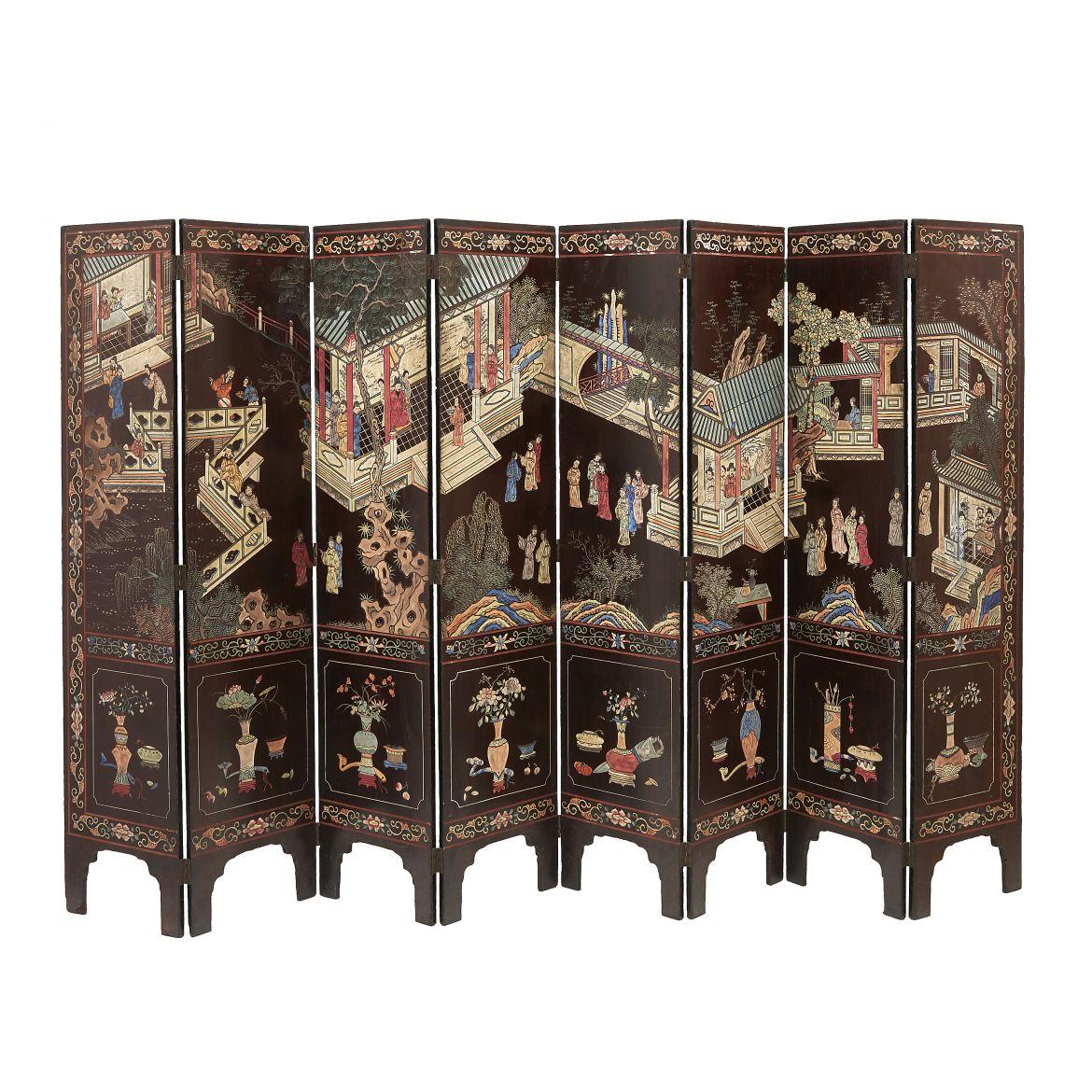Eight Fold Coromandel Screen