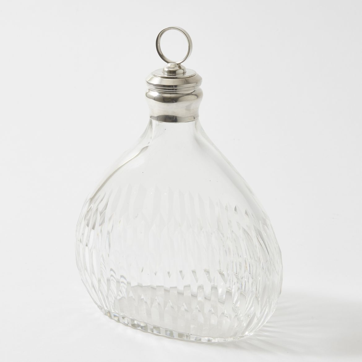 Fluted French Decanter