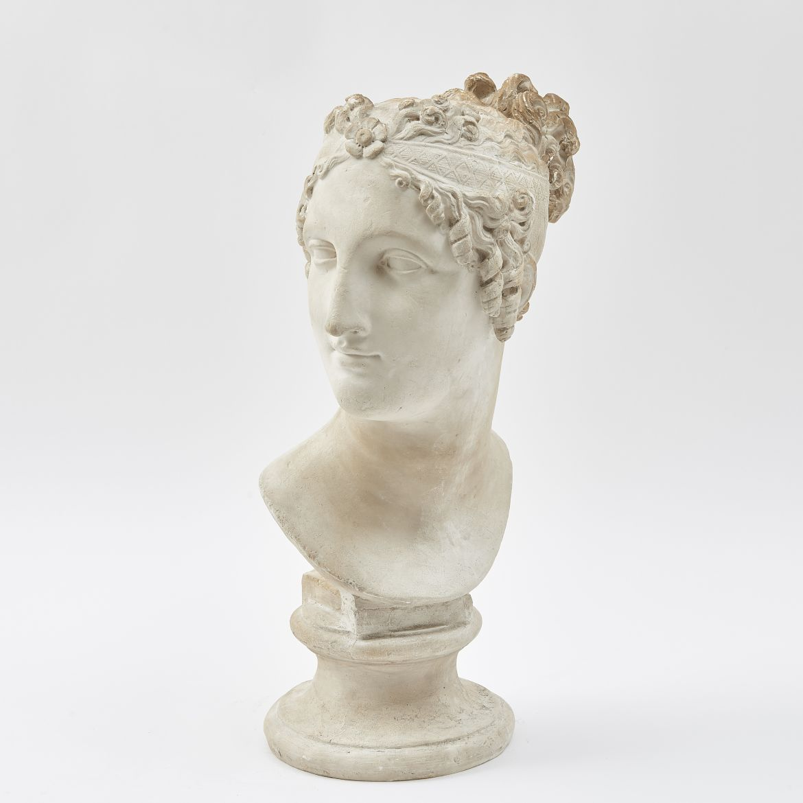 Plaster Head of Venus