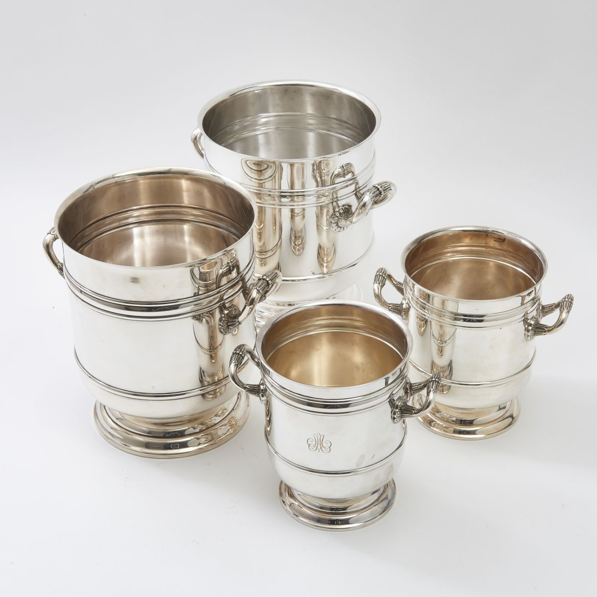 Set 4 Christofle Buckets