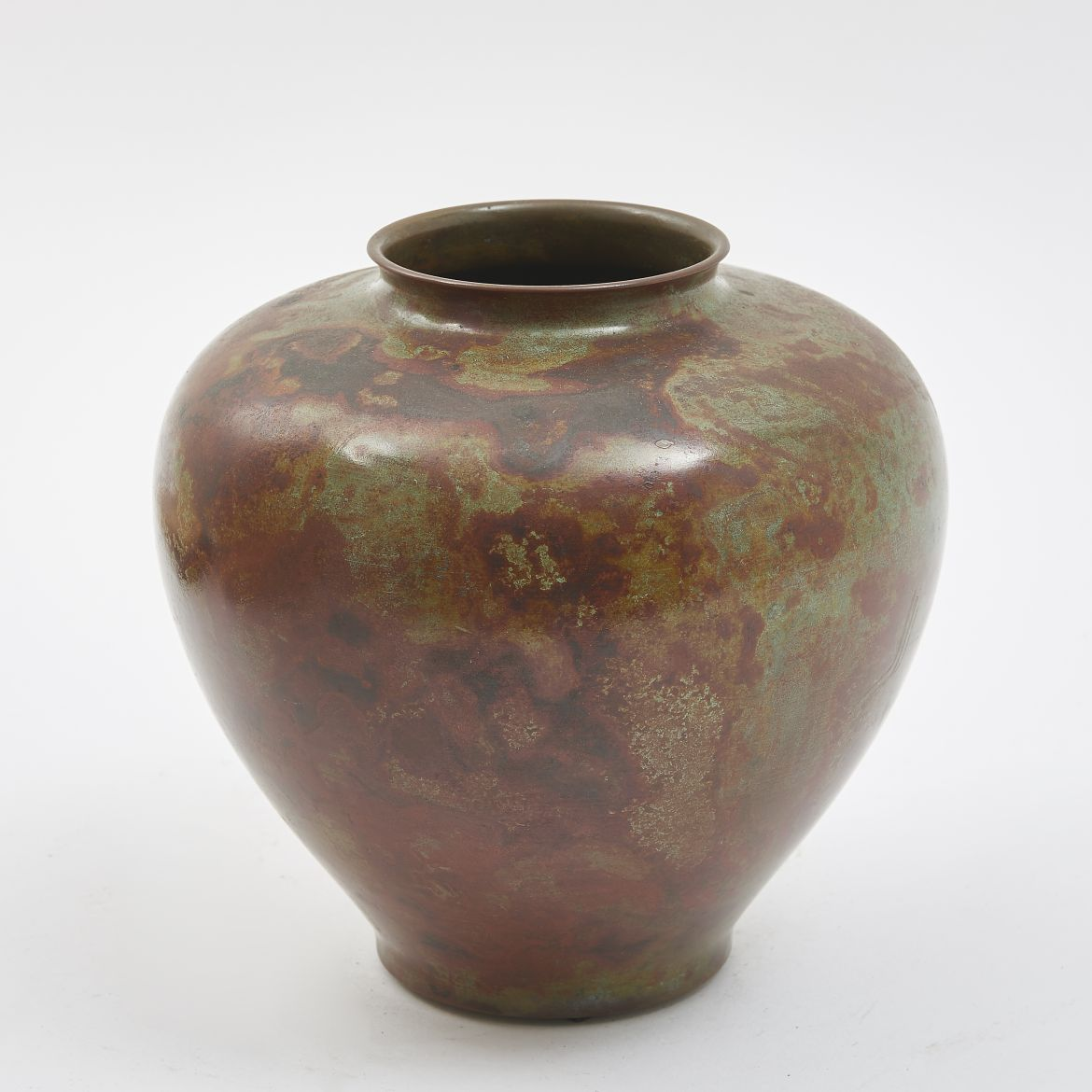 Japanese Vase with Curled Lip
