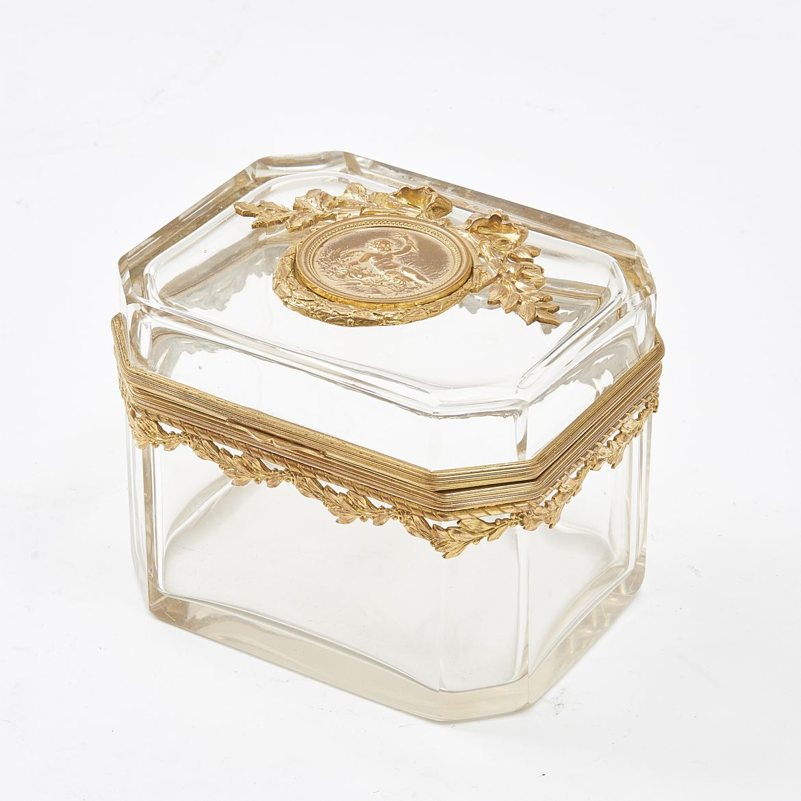 French Napoleon III Glass Box