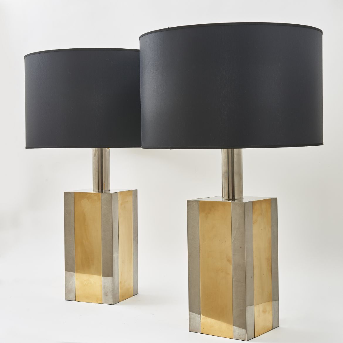 Chrome & Brass Lamps