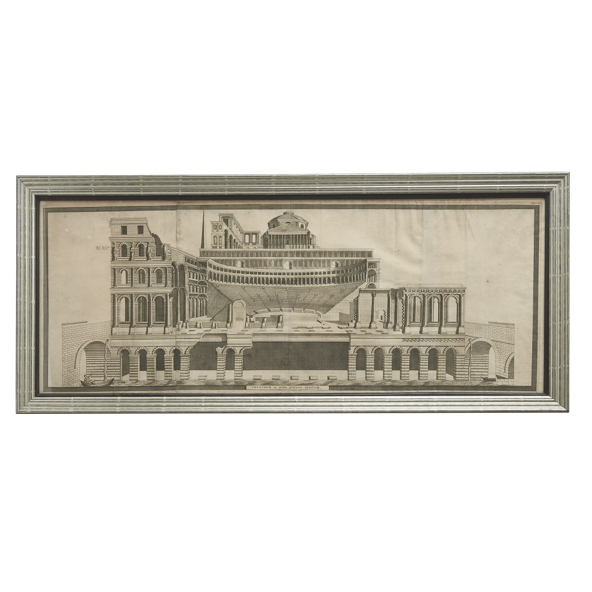 Architectural Print of Roman Theatre