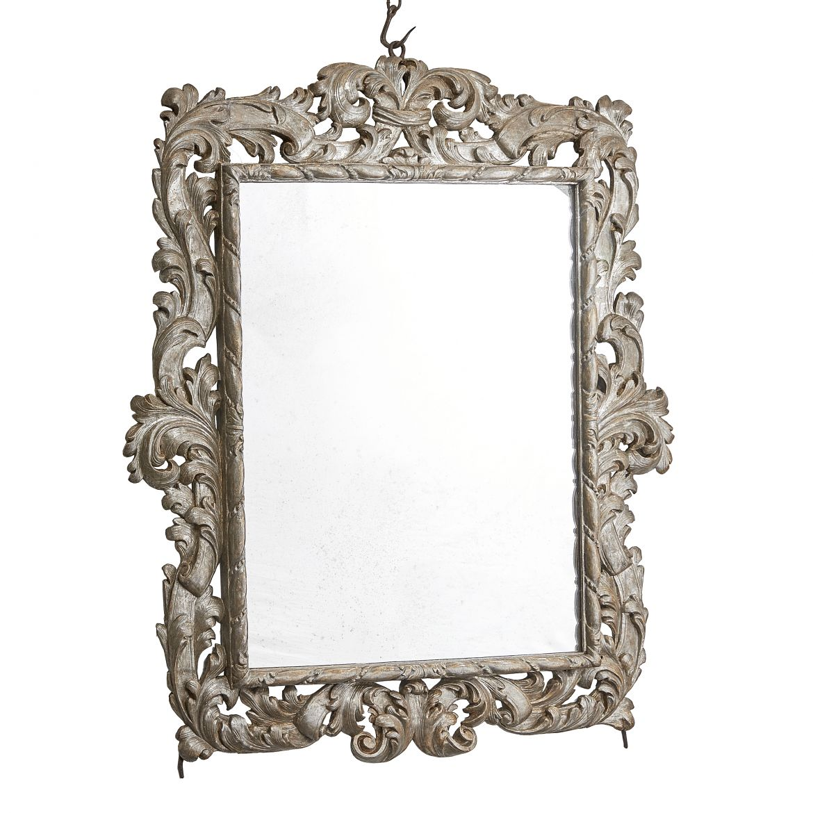 Tuscan Rococo Silvered Mirror
