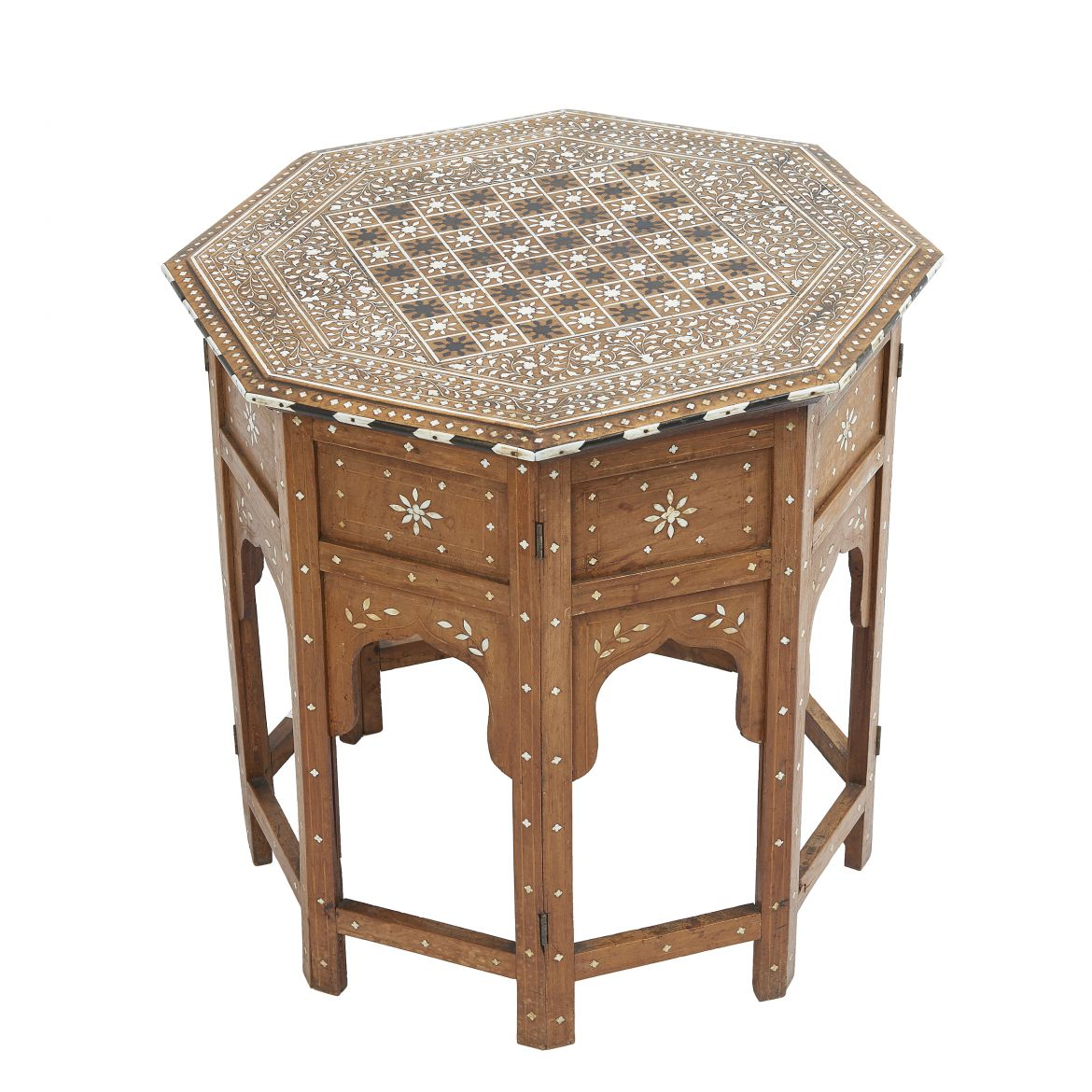Indian Arabesque Octagonal Table