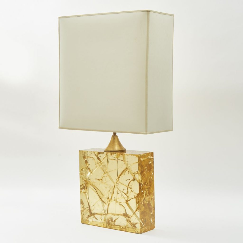 Resin Lamp With Shade