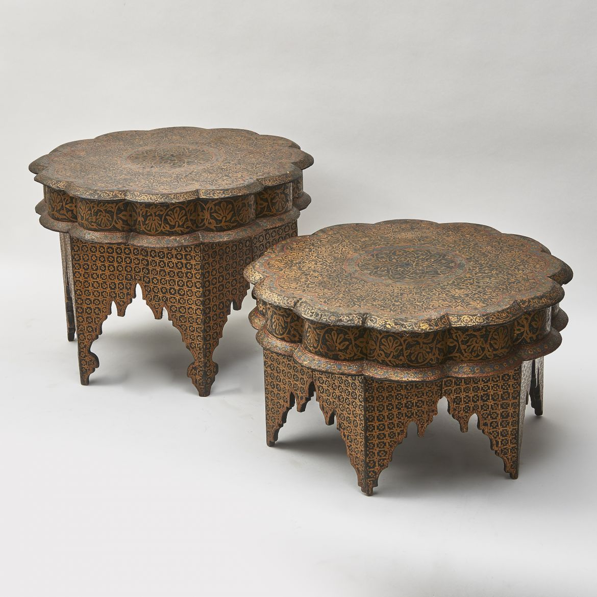 Persian Painted Tables