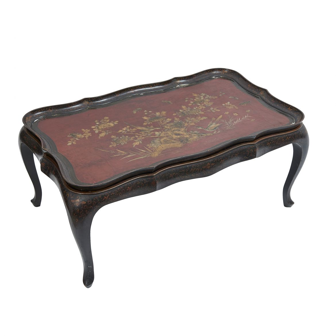 Jansen Chinoiserie Table