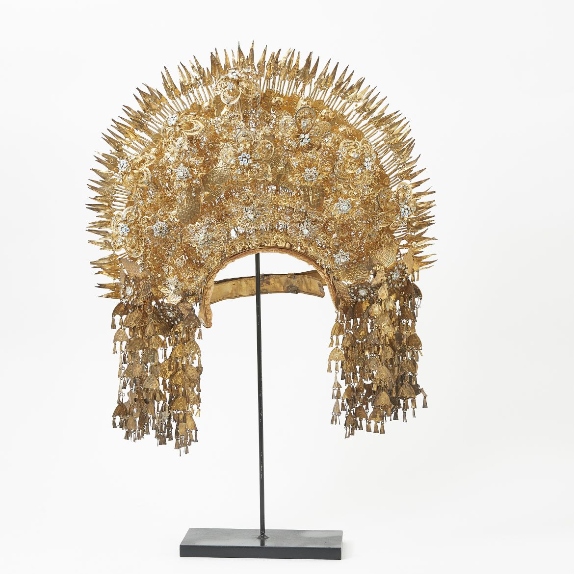 Sumatran Golden Headdress