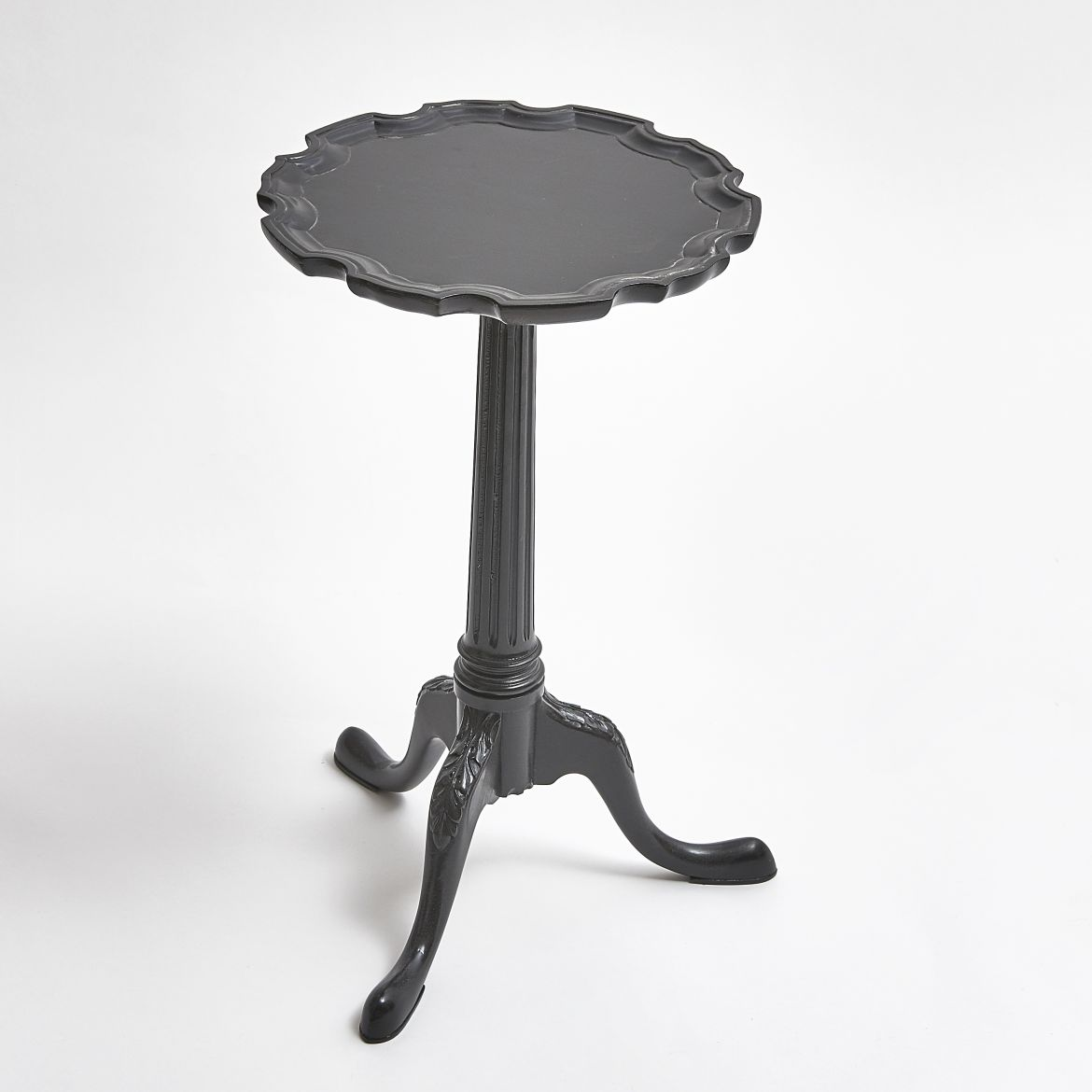 Ebonised Wine Table