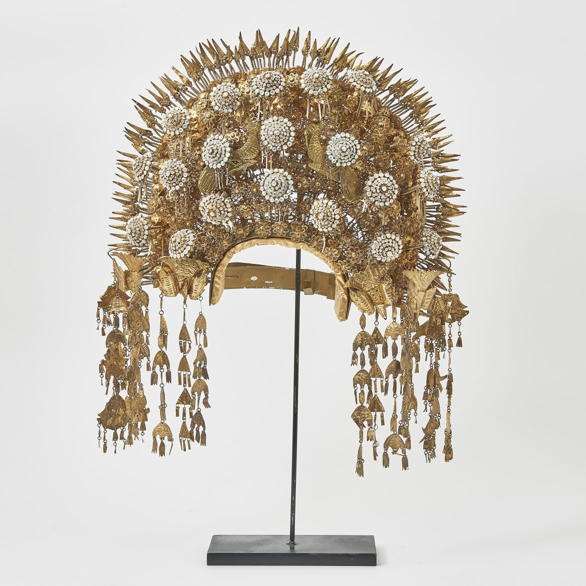 Sumatran Headdress With Paste Detailing