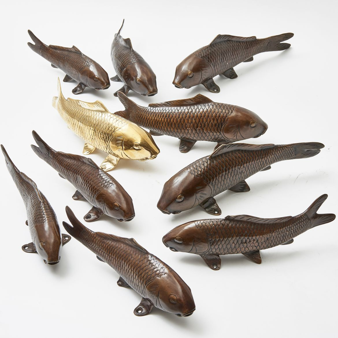 Bronze Japanese Fish